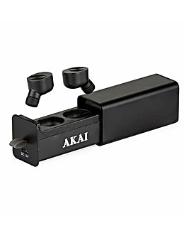 AKAI DYNMX Wireless Playbuds Black