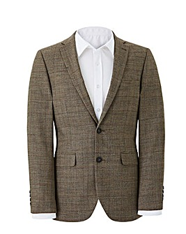 Flintoff By Jacamo Wool Checked Jacket R
