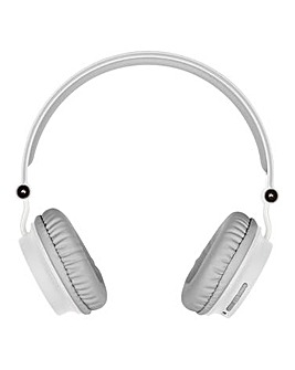 KITSOUND Metro Wireless Headphones White