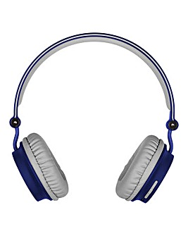 KITSOUND Metro Wireless Headphones Blue