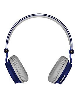 KITSOUND Metro Wireless Headphones Blue