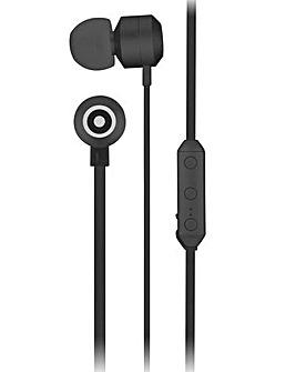 KITSOUND Ribbons Wireless Earphone Black