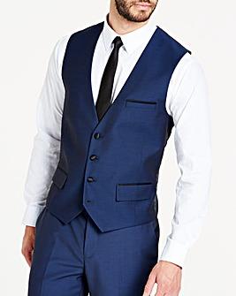 Navy Slim Fit Dinner Suit Waistcoat