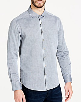 Flintoff By Jacamo Flannel L/S Shirt L