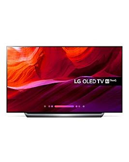 LG OLED 55 inch C8PLA 4K + Install