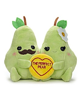 Love Hearts - Perfect Pear Plush