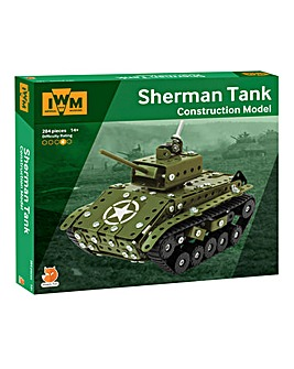 Imperial War Museum Construction Set - Sherman Tank
