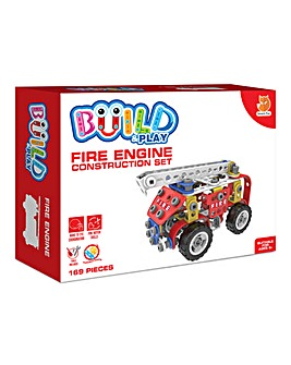 Build & Play Fire Engine Construction Set