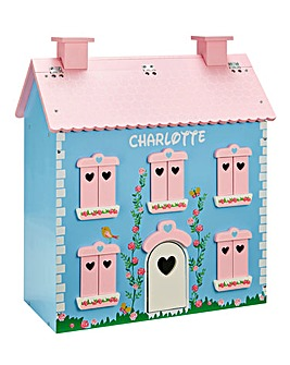 Personalised Rose Cottage Dolls House