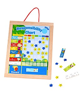 Wooden Responsibility Chart