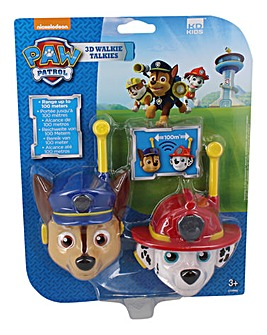 Paw Patrol 3D Walkie Talkies