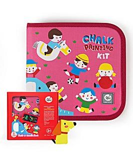 Jar Melo Chalk-A-Doodle Book - Happy Kindergarten