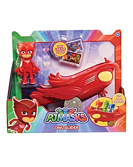PJ Masks Vehicle & Figure - Owlette