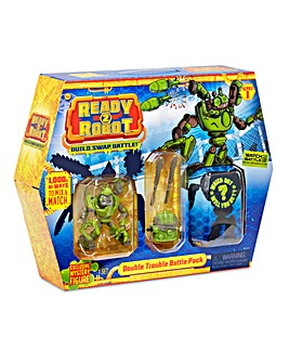 Ready2Robot Battle Pack Double Trouble