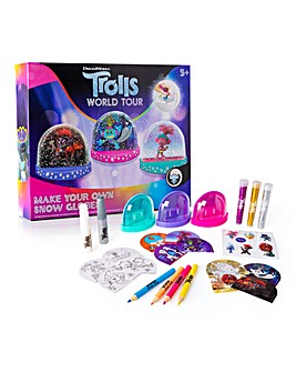Trolls World Tour Make Your Own Snow Globes