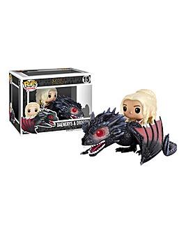 POP! Rides: GOT Drogon & Daenerys