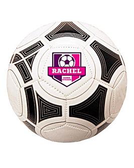 Personalised Football - Pink