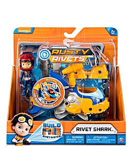 Rusty Rivets Vehicle Build - Rivet Shark