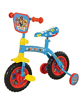 Paw Patrol 2in1 10in Training Bike