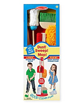 Melissa & Doug Dust, Sweep & Mop