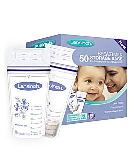 Lansinoh Breastmilk Storage Bags 50 Pack