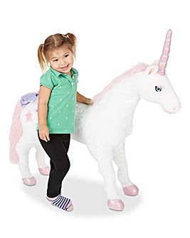 Melissa & Doug Jumbo Unicorn Plush