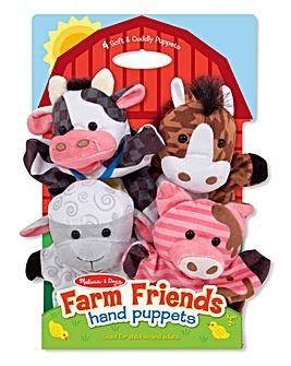Melissa & Doug Farm Hands Puppets
