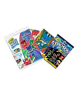 Crayola PJ Masks Bundle