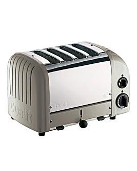 Dualit Neutrals 4 Slot Shadow Toaster