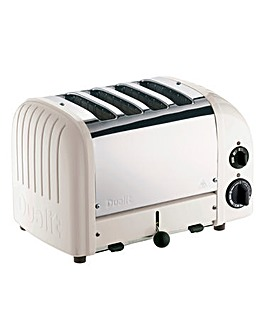 Dualit Neutrals 4 Slot Feather Toaster