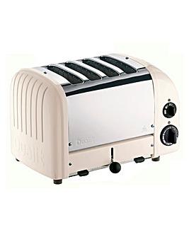 Dualit Neutrals 4 Slot Powder Toaster