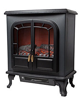 Warmlite 2000W Log Effect Black Stove