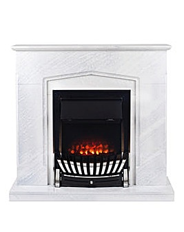 Beldray Galway Marble Effect Fire Suite
