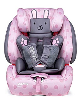 Cosatto Judo Group 123 Carseat - Bunny Buddy
