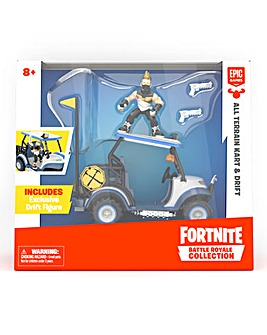 Fortnite Battle Royale Collection: All Terrain Kart Vehicle & Drift Figure