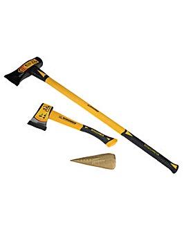 Roughneck Wood Chopping Kit 3Pc