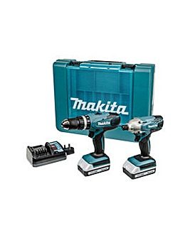 CombiDrill and Impact Driver Twinpack18V