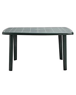 HOME Large Oblong Table - Cayman Green
