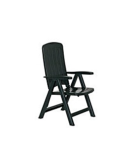 Recliner Chair - Cayman Green