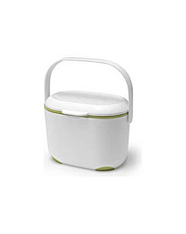 Addis Compost Caddy - Green and White