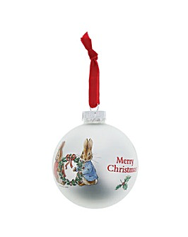 Beatrix Potter Peter & Flopsy Bauble