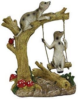Gardenwize Meerkat Swing Ornament