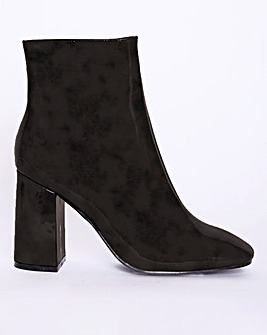 Glamorous Ankle Boots Wide Fit
