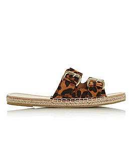 Head Over Heels Laurens Buckle Espadrille Sandals