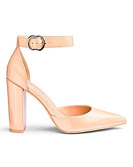 Glamorous Block Heels Wide Fit