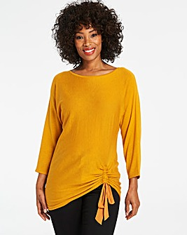 Supersoft Ruched Jumper