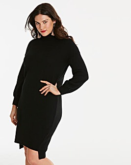 Seam Detail Knitted Dress