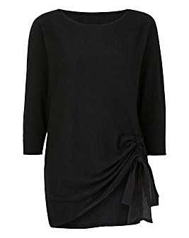 Super Soft Premium Lightweight Ruched Side Jumper