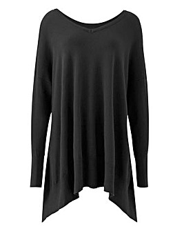 Dipped Hem Side Tunic