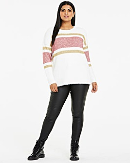 Tinsel Stripe Jumper